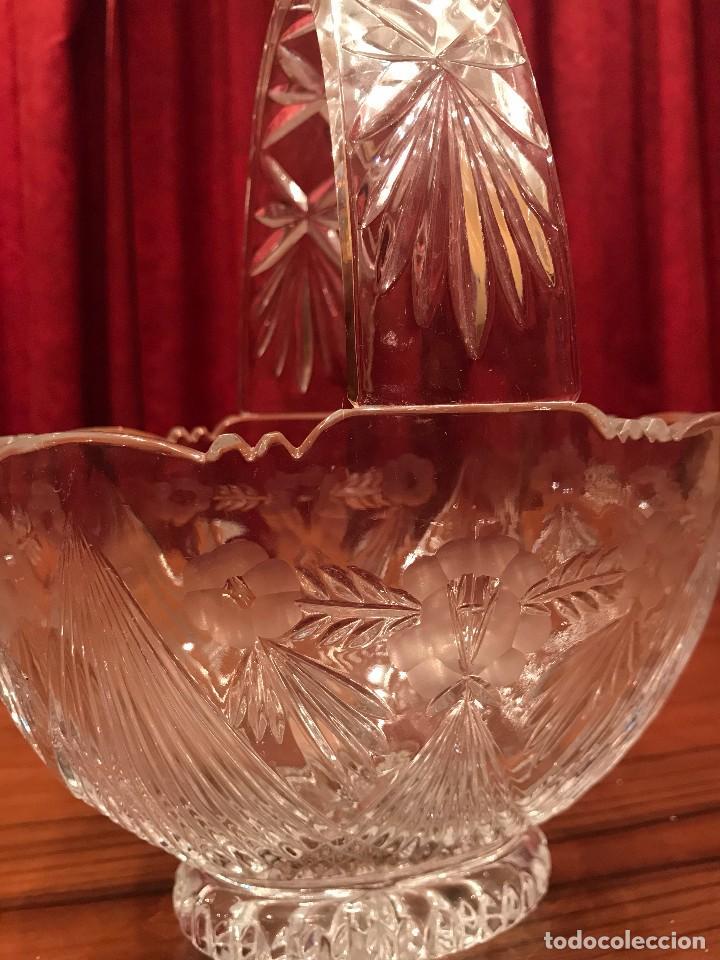 Segunda Mano: Cesto de cristal de Bohemia - Foto 2 - 105627115