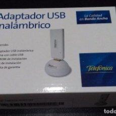 Second hand - ADAPTADOR USB INALAMBRICO - TELEFONICA - WINDOWS XP/VISTA - 105658931