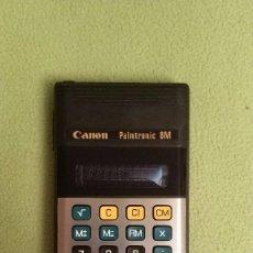 Segunda Mano: CALCULADORA CANON PALMTRONIC 8M. Lote 105967695