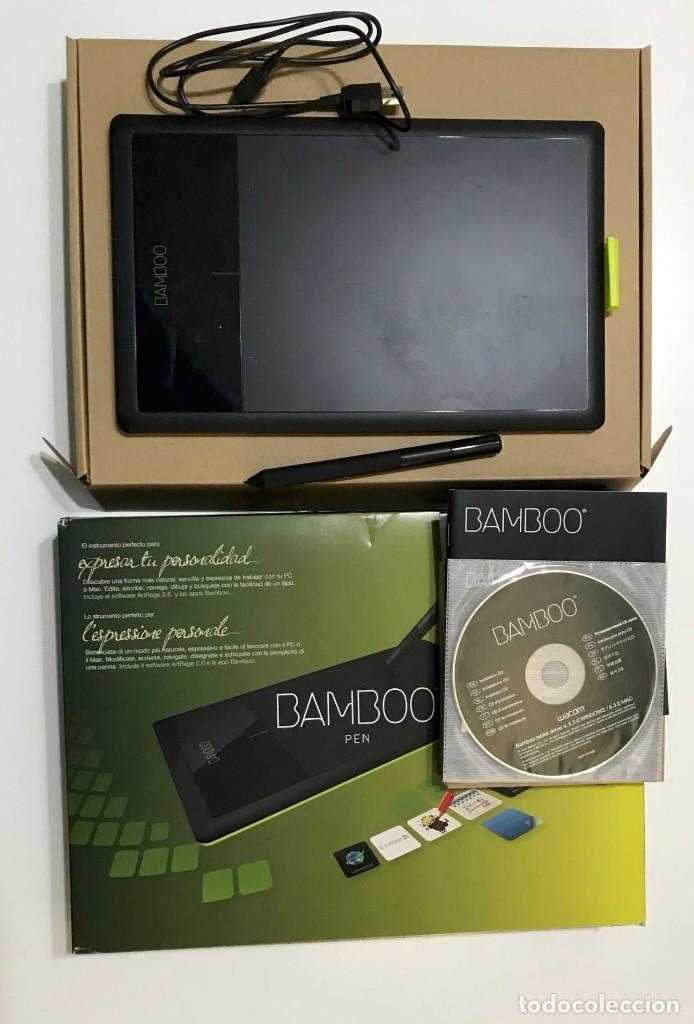 TABLETA GRÁFICA WACOM BAMBOO PEN, CLT-470, usado segunda mano