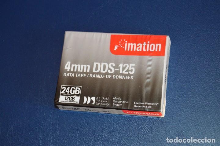 Segunda Mano: NUEVAS A ESTRENAR - LOTE DE 5 CINTAS DE DATOS - IMATION DDS 125 DATA TAPE - 24GB COMPRESSED - LOTE 1 - Foto 2 - 106767711
