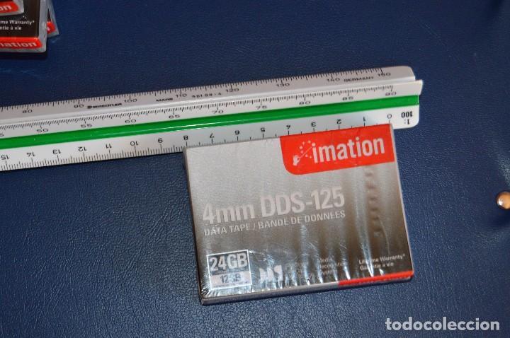 Segunda Mano: NUEVAS A ESTRENAR - LOTE DE 5 CINTAS DE DATOS - IMATION DDS 125 DATA TAPE - 24GB COMPRESSED - LOTE 1 - Foto 4 - 106767711