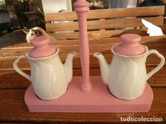 Segunda Mano: Vinagreras, aceiteras de cerámica - Foto 2 - 107620355