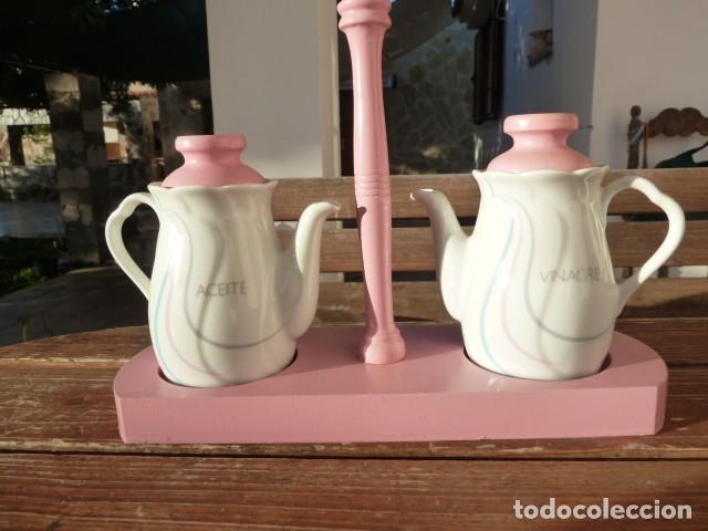 Segunda Mano: Vinagreras, aceiteras de cerámica - Foto 4 - 107620355