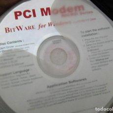 Second hand - disco cd ... PCI modem bit ware for windows application softwarees - 107930355
