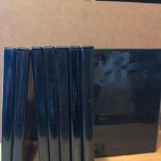 Segunda Mano: 57 CAJAS DVD VARIOS FORMATOS. Lote 108488967