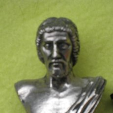 Segunda Mano: PEQUEÑA ESCULTURA DE BRONCE MACIZO PLATEADO. Lote 108701747