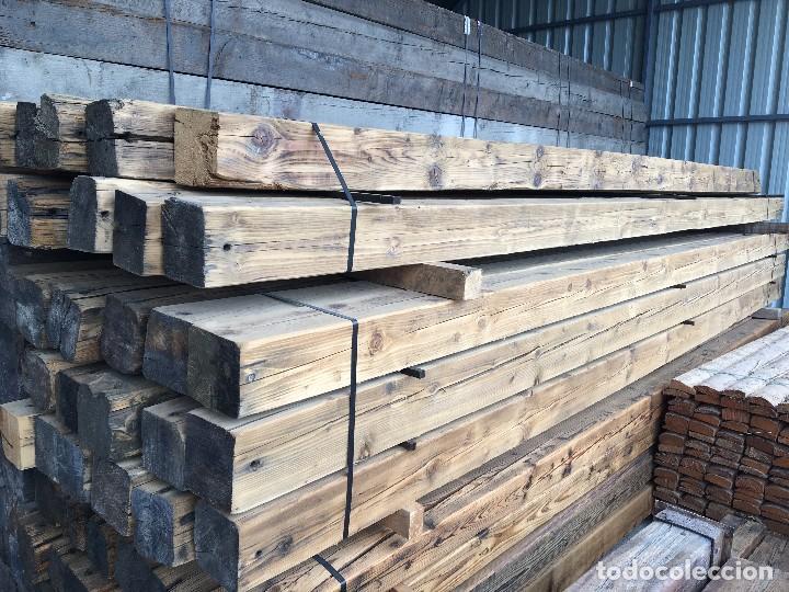 Vigas de madera antigua recuperadas vendido en venta - Garajes de madera de segunda mano ...