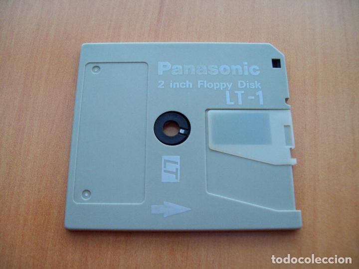 Segunda Mano: Panasonic Floppy Disk LT-1. Tamaño 2 pulgadas (disquette, disquete, diskete, diskette) - Foto 4 - 109163479