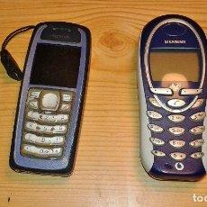 Segunda Mano: LOTE 2 TELÉFONOS MÓVILES. NOKIA Y SIEMENS. Lote 109293495