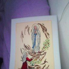 Segunda Mano: ARTESANÍA PUNTO DE CRUZ RELIGIOSA. Lote 109833559