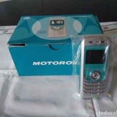 Segunda Mano: 2-MOVIL MOTOROLA C 550, CAJA ORIGINAL. Lote 109997927