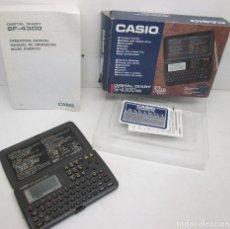 Segunda Mano: CALCULADORA,AGENDA ELECTRÓNICA CASIO DIGITAL DIARY SF-4300 BK. Lote 110069871