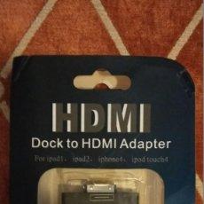 Segunda Mano: HDMI ADAPTER I PAD 2. Lote 110519443