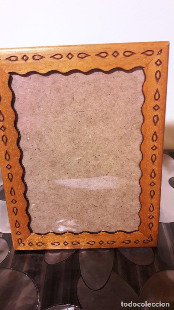 marco para fotos de madera decorada - Comprar artículos de segunda ...