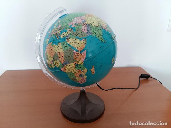 L mpara de la bola del mundo globo terr queo ma vendido en venta directa 111035079 - Cosas del hogar de segunda mano ...