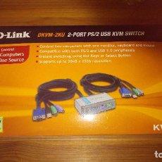 Segunda Mano: DLINK - CONTROLADOR PARA DOS COMPUTADORAS PC. Lote 111416379