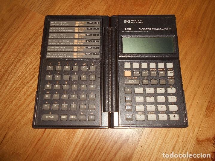 Segunda Mano: Calculadora Hewlett Packard HP 19B AMERICANA 19 B RARA FUNCIONANDO RARA DOS MODULOS - Foto 3 - 112336335