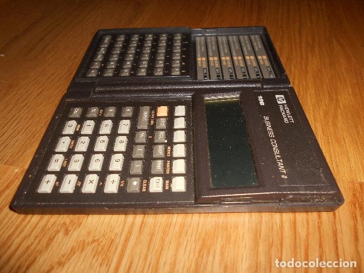 Segunda Mano: Calculadora Hewlett Packard HP 19B AMERICANA 19 B RARA FUNCIONANDO RARA DOS MODULOS - Foto 4 - 112336335