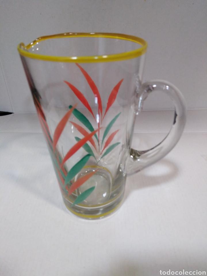 Segunda Mano: Antigua jarra serigrafiada con bonitos colores - Foto 2 - 112337920