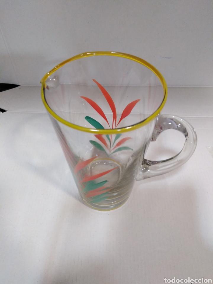 Segunda Mano: Antigua jarra serigrafiada con bonitos colores - Foto 3 - 112337920