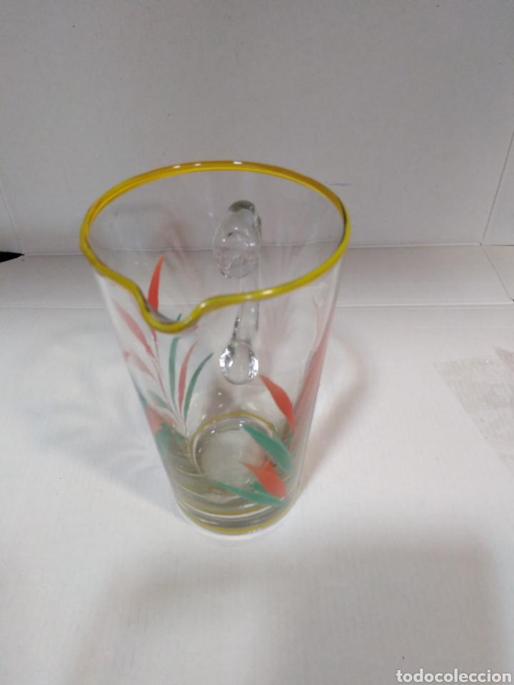 Segunda Mano: Antigua jarra serigrafiada con bonitos colores - Foto 4 - 112337920