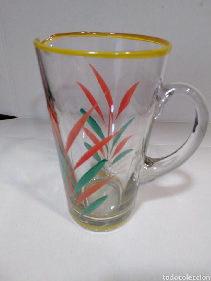 Segunda Mano: Antigua jarra serigrafiada con bonitos colores - Foto 6 - 112337920