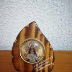 Segunda Mano: MARCO CON FOTO DE NUESTRA SEÑORA DE LA ESPERANZA DE CALASPARRA-MURCIA. Lote 112429443