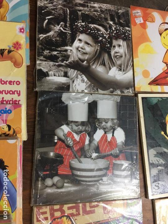 Segunda Mano: LOTE DE 30 TABLAS ó CUADROS DE MADERA IMPRESA - RESTOS DE TIENDA - Foto 5 - 112573091