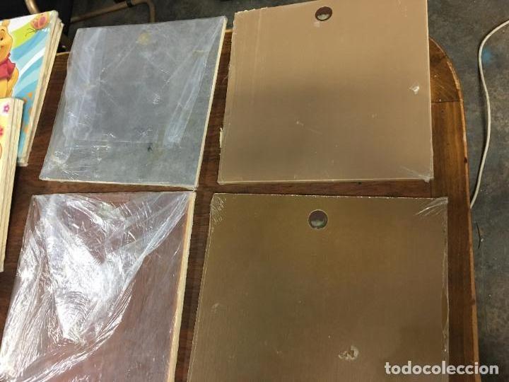 Segunda Mano: LOTE DE 30 TABLAS ó CUADROS DE MADERA IMPRESA - RESTOS DE TIENDA - Foto 20 - 112573091