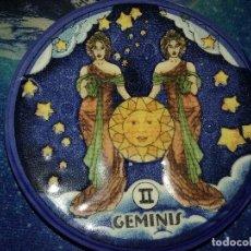 Segunda Mano: PLATILLO CON FIGURA DE HOROSCOPO. GEMINIS.. Lote 112828591