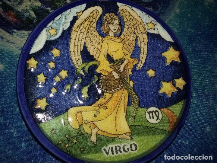 PLATILLO CON FIGURA DE HOROSCOPO. VIRGO. (Segunda Mano - Hogar y decoración)