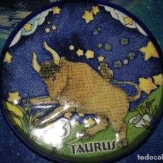 Segunda Mano: PLATILLO CON FIGURA DE HOROSCOPO. TAURO.. Lote 112828907