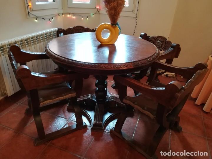 comedor estilo castellano madera maciza de robl - Comprar artículos ...