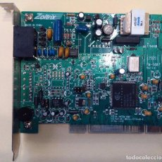 Segunda Mano: TARJETA MODEM 56K - ZOLTRIX - CONEXANT - PCI. Lote 113467103