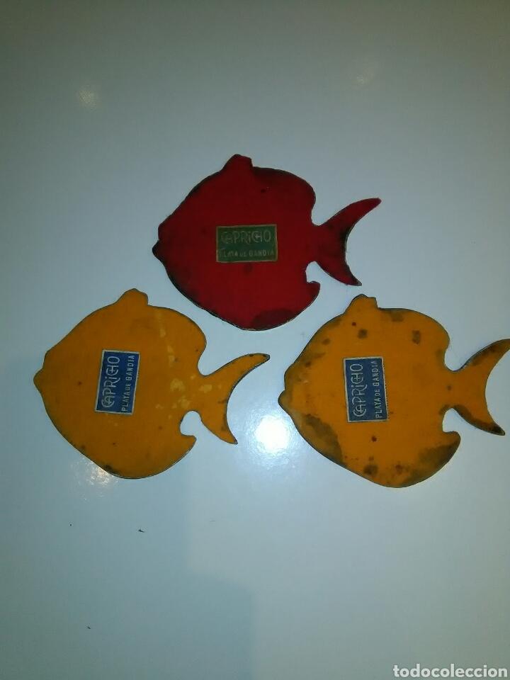 Segunda Mano: Tres posa vasos vintage forma de pez - Foto 3 - 113731012