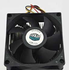 Segunda Mano: VENTILADOR PARA CPU COOLER MASTER:. Lote 135793058