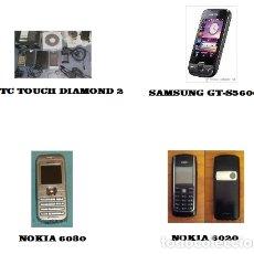 Segunda Mano: 1 HTC TOUCH DIAMOND 2 - 1 SAMSUNG GT-S5600 - 1 NOKIA 6030 - 1 NOKIA 6020. Lote 33119024