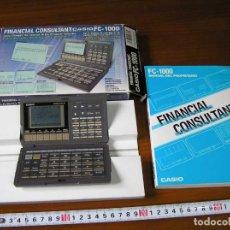 Segunda Mano: CALCULADORA FINANCIERA ANTIGUA CASIO FC-1000 FC1000 FUNCIONANDO FINANCIAL CONSULTANT FC 1000. Lote 173508574