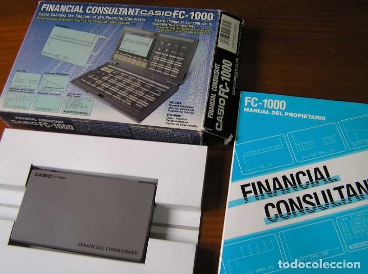 Segunda Mano: CALCULADORA FINANCIERA ANTIGUA CASIO FC-1000 FC1000 FUNCIONANDO FINANCIAL CONSULTANT FC 1000 - Foto 25 - 173508574