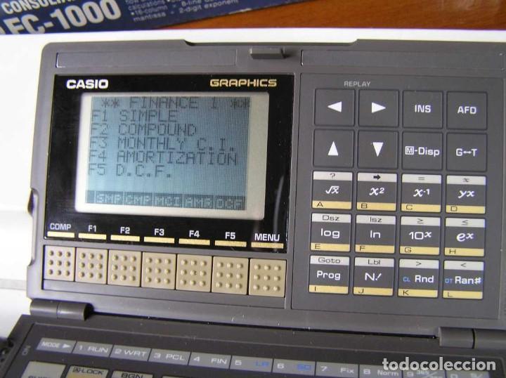 Segunda Mano: CALCULADORA FINANCIERA ANTIGUA CASIO FC-1000 FC1000 FUNCIONANDO FINANCIAL CONSULTANT FC 1000 - Foto 34 - 173508574