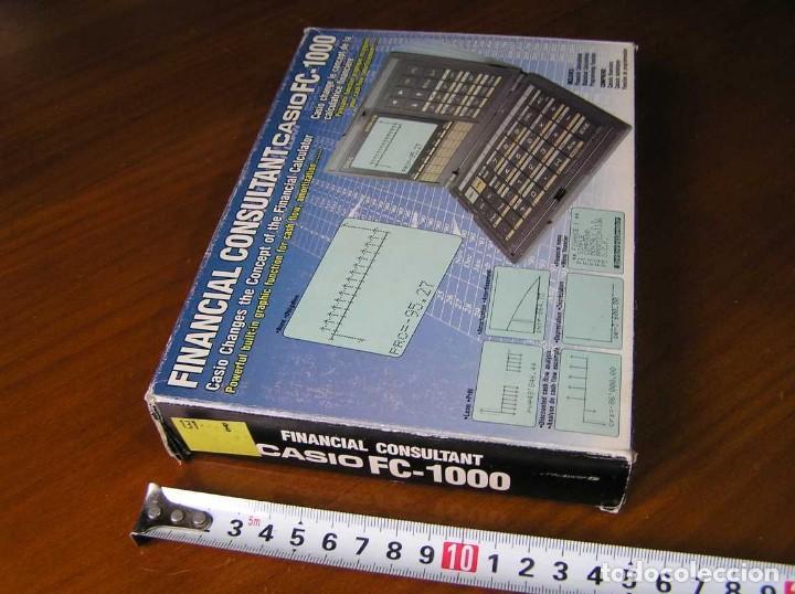 Segunda Mano: CALCULADORA FINANCIERA ANTIGUA CASIO FC-1000 FC1000 FUNCIONANDO FINANCIAL CONSULTANT FC 1000 - Foto 36 - 173508574