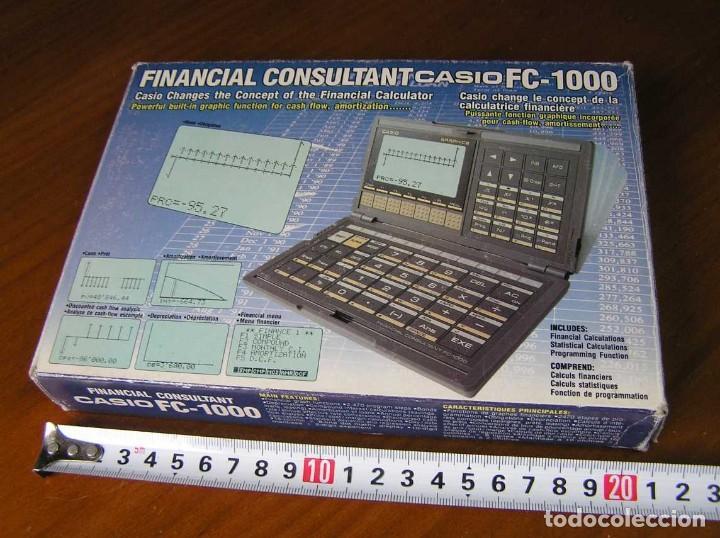 Segunda Mano: CALCULADORA FINANCIERA ANTIGUA CASIO FC-1000 FC1000 FUNCIONANDO FINANCIAL CONSULTANT FC 1000 - Foto 37 - 173508574