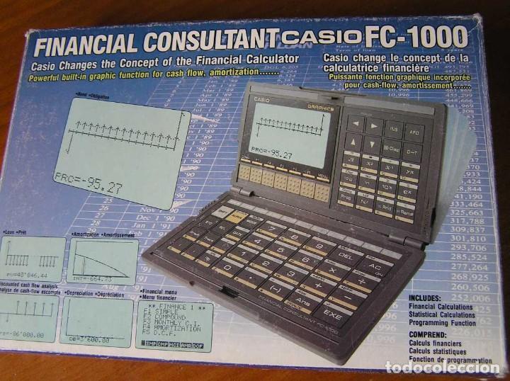 Segunda Mano: CALCULADORA FINANCIERA ANTIGUA CASIO FC-1000 FC1000 FUNCIONANDO FINANCIAL CONSULTANT FC 1000 - Foto 40 - 173508574