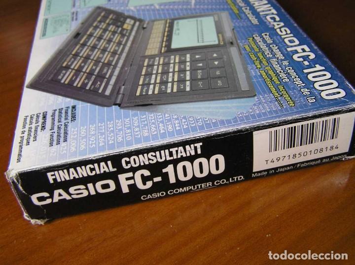Segunda Mano: CALCULADORA FINANCIERA ANTIGUA CASIO FC-1000 FC1000 FUNCIONANDO FINANCIAL CONSULTANT FC 1000 - Foto 41 - 173508574