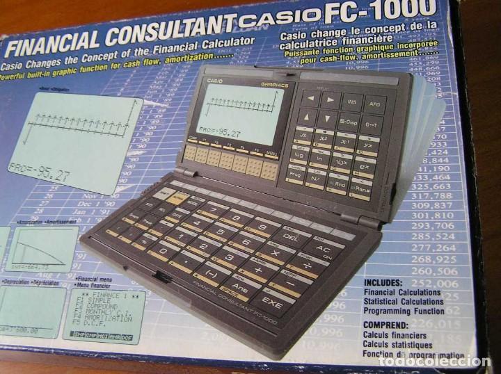 Segunda Mano: CALCULADORA FINANCIERA ANTIGUA CASIO FC-1000 FC1000 FUNCIONANDO FINANCIAL CONSULTANT FC 1000 - Foto 42 - 173508574