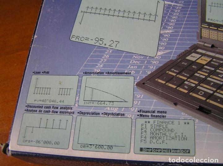 Segunda Mano: CALCULADORA FINANCIERA ANTIGUA CASIO FC-1000 FC1000 FUNCIONANDO FINANCIAL CONSULTANT FC 1000 - Foto 43 - 173508574