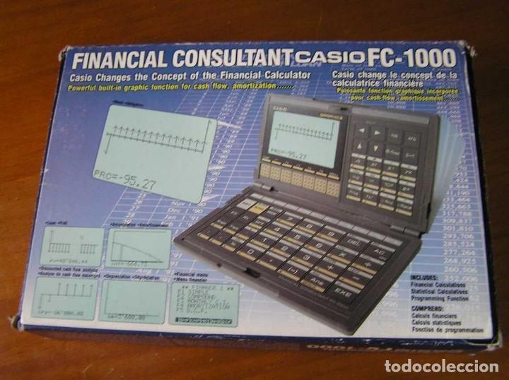 Segunda Mano: CALCULADORA FINANCIERA ANTIGUA CASIO FC-1000 FC1000 FUNCIONANDO FINANCIAL CONSULTANT FC 1000 - Foto 44 - 173508574