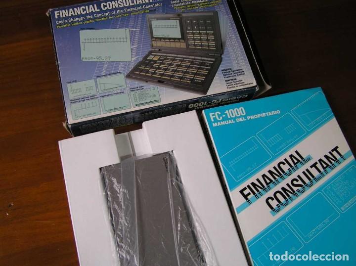 Segunda Mano: CALCULADORA FINANCIERA ANTIGUA CASIO FC-1000 FC1000 FUNCIONANDO FINANCIAL CONSULTANT FC 1000 - Foto 46 - 173508574