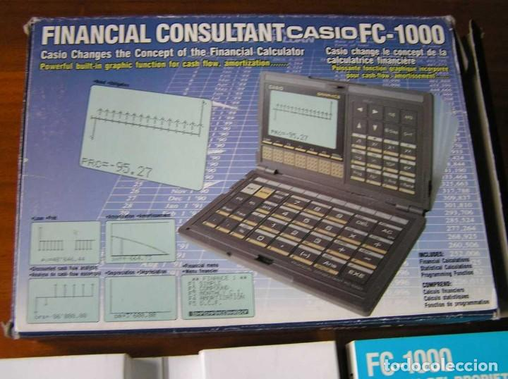 Segunda Mano: CALCULADORA FINANCIERA ANTIGUA CASIO FC-1000 FC1000 FUNCIONANDO FINANCIAL CONSULTANT FC 1000 - Foto 47 - 173508574